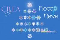 fiocchi di neve, fiocchi di neve di carta, decorazioni di carta, ritagliare fiocchi di neve,
