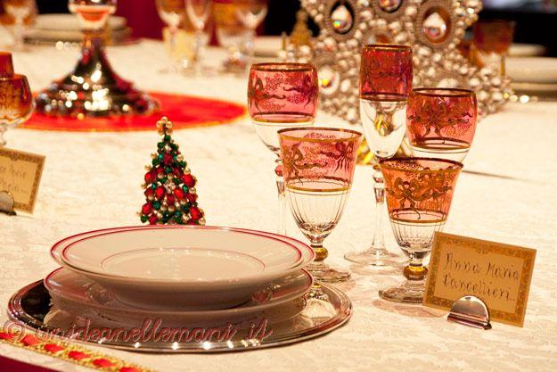 come addobbare la casa per natale tavola natalizia : tavola di natale, decorazioni per la tavola, segnaposti, decorazioni ...