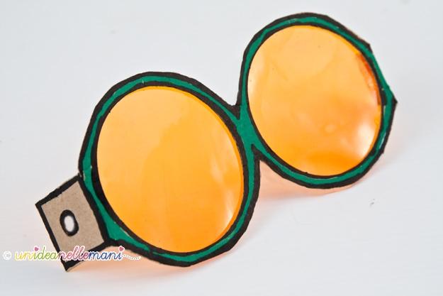 occhiali anni 60, occhiali fai da te, occhiali di cartone, maschere da ritagliare, maschere carnevale, occhiali divertenti, occhiali buffi, occhiali carnevale,