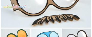 Maschere di Carnevale: Come Fare gli Occhiali Finti