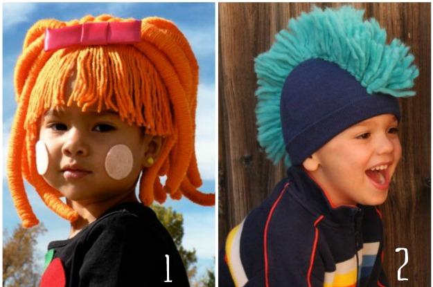 parrucca di lana, parrucca boccoli, parrucche carnevale, parrucca fai da te, wigs with wool, criniera di lana,