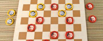 Giochi per bambini da costruire in casa: la dama fai da te