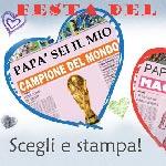 Biglietti Auguri Festa del Papà: le finte prime pagine di gi...