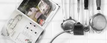 riciclo giornali, giornali per pulire, riciclo quotidiani, lavello cucina