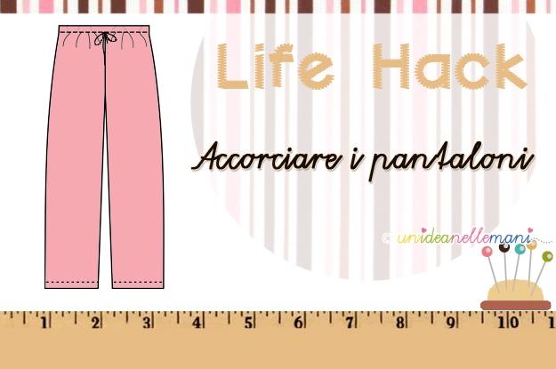 come accorciare i pantaloni senza cucire