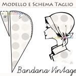 Come fare una bandana vintage: spiegazioni, schema e modello