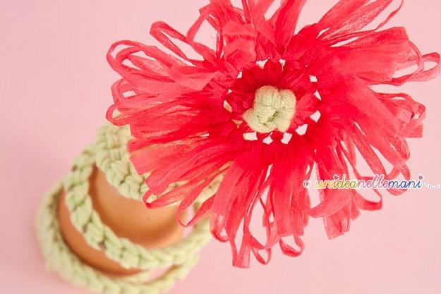 segnaposto, segnaposto pasqua, segnaposto fai da te, segnaposto all'uncinetto, segnaposto originale, fiore all'uncinetto, crochet flower, portauovo fai da te, tavola pasqua, cestino portauova, portauova, portauovo uncinetto