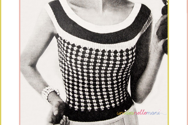 lavori a maglia, maglione a maglia, modello golfino a maglia, modello maglia anni 50/60, moda anni 60/70, fashion knitting 60 years, free knitted sweater patterns, knit sweater patterns,