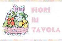 decorazioni tavola, tavola di pasqua, cache pot, cestini di fiori, decorazioni pasqua,