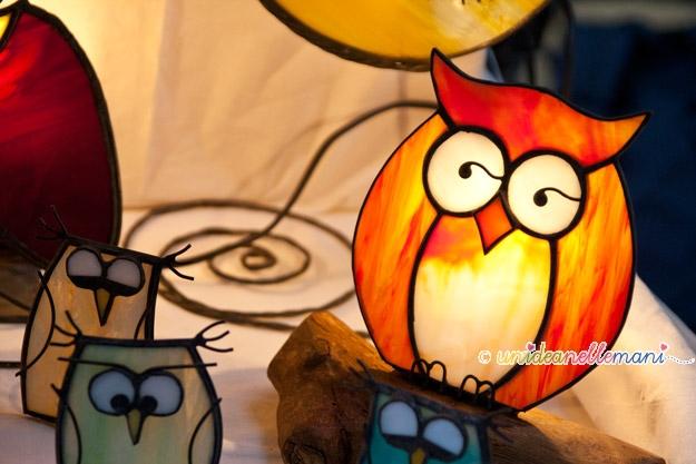 lampade artigianali, mercatini hobbisti, lampade a piombo, lampade tiffany, lampade fatte a mano,