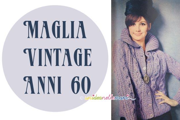 maglia vintage, maglia anni 60, lavoro a maglia, spiegazioni giacca, golfino a maglia,