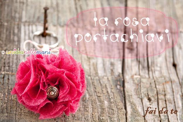 Bien connu Idea regalo Festa della Mamma: portachiavi fai da te TW79