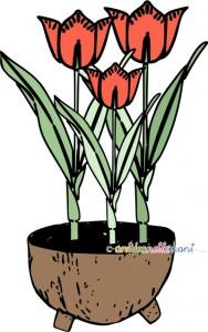 vaso di cocco, cestino fiori, decorazioni tavola, tavola di pasqua, cache pot, cestini di fiori, decorazioni pasqua,