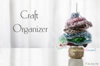 craft organizer, granny square, tenere in ordine, lavori a maglia, lavori uncinetto, craft room,