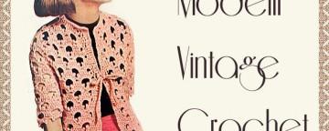 Modelli Vintage ad Uncinetto: la giacchina a ventagli