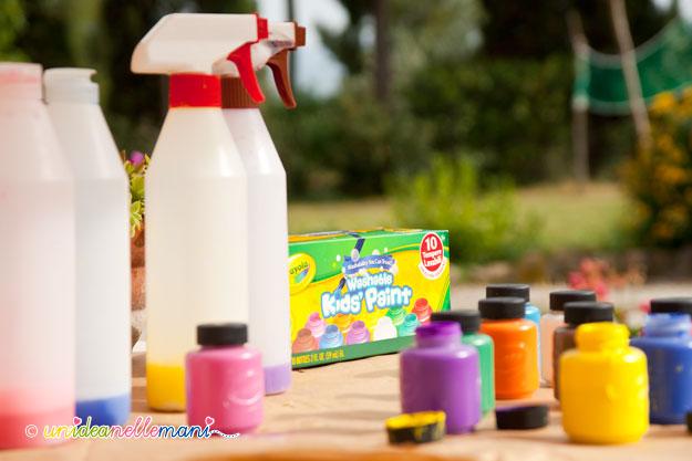 tempere, disegni tempere, tempere crayola, colorare con spray, tempere lavabili, giocare con le tempere, dipingere tempere, gioco twister,