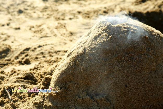 vulcano sabbia, giochi mare, giochi spiaggia, giochi sabbia,