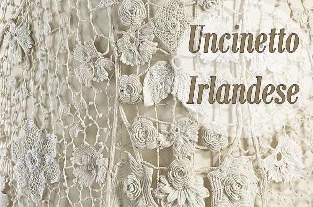 uncinetto irlandese, irish crochet, lavori ad uncinetto irlandese, lavori uncinetto,