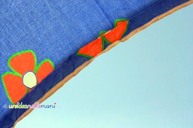 ombrellone azzurro