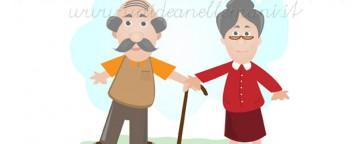 biglietti auguri festa dei nonni, festa dei nonni, biglietti auguri da stampare, festa dei nonni cartolina, nonni,