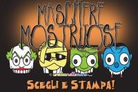 maschere da stampare, maschere da colorare, maschere mostri, maschere halloween, maschere paurose, maschere carnevale,