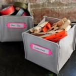 cestino di stoffa, cestino fai da te, portamollette, mollette da bucato, cestino quadrato, box,