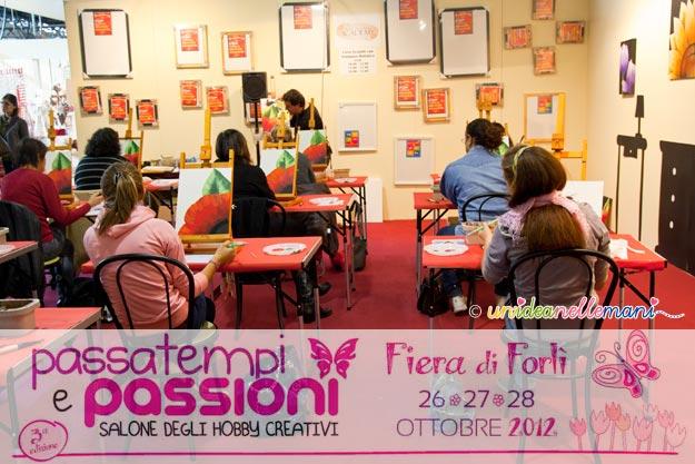 corsi creativi, fiera creatività, passatempi e passioni