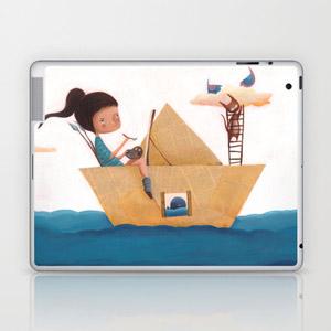 laotop personalizzato, ipad personalizzato, skin per laptop, cover ipad, alessandra liberato, disegni,