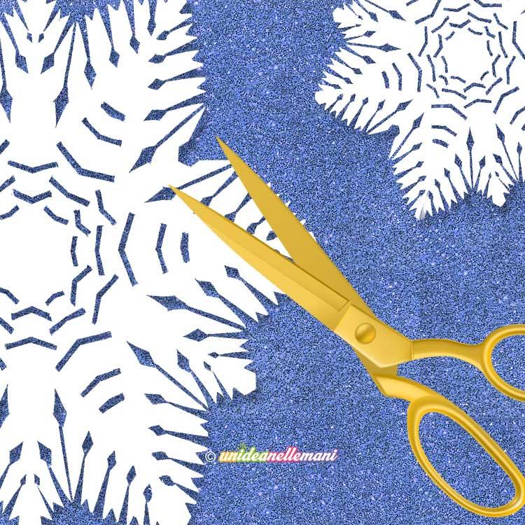 Tutorial Per Creare Fiocchi Di Neve Di Carta