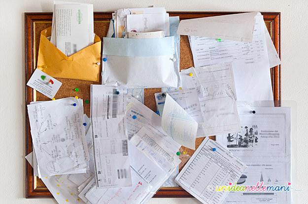 Organizer Ufficio Fai Da Te : Organizer fai da te riciclando un vecchio calendario