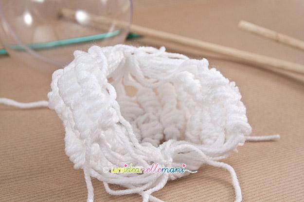 palline uncinetto, palline di natale uncinetto, palline natale rivestite, palline lana,