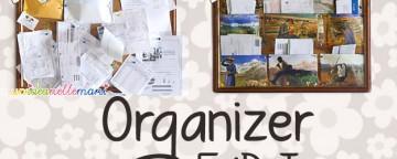 Organizer Fai da Te riciclando un Vecchio Calendario