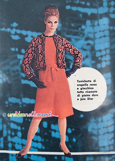 abiti anni 60, moda anni 60, abiti vintage, vestiti da sera, vestiti capodanno, abiti da ballo, abito rosso da sera,