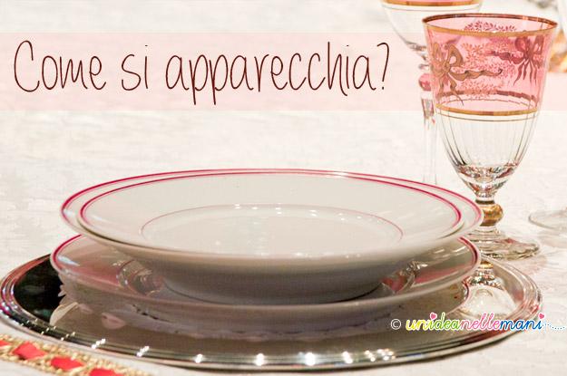 Come apparecchiare la tavola di natale - Disposizione bicchieri in tavola ...