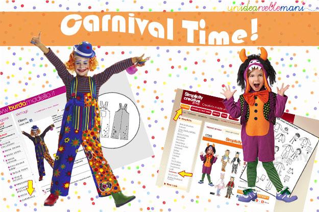 cartamodelli, cartamodelli costumi carnevale, cartamodelli vestiti carnevale, costumi carnevale, cartamodelli gratis,