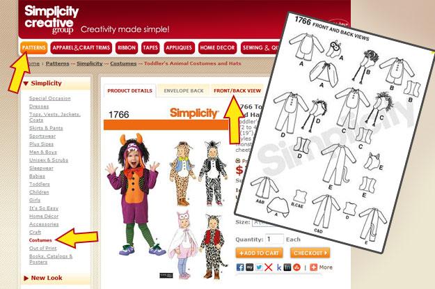 cartamodelli simplicity, cartamodelli costumi carnevale, cartamodelli vestiti carnevale, costumi carnevale, cartamodelli gratis,