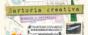 corso cucito, sartoria creativa, riciclo creativo, cucito creativo