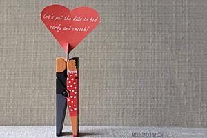 10 idee regalo fai da te per san valentino unideanellemani - Portafoto con molletta ...