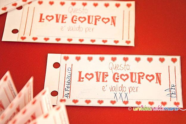 Estremamente Biglietti San Valentino da Stampare: hai mai regalato i Love Coupon? DA42