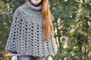 poncho, poncho all'uncinetto, poncho a maglia, poncho ai ferri, poncho di lana, poncho fatto a mano, poncho fai da te,