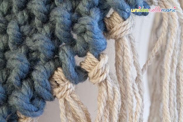 poncho ai ferri, poncho a maglia, coprispalle ai ferri, coprispalle a maglia, spiegazioni poncho, schema poncho a maglia