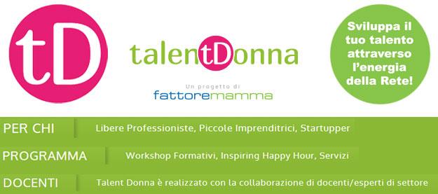 Talent-donna-