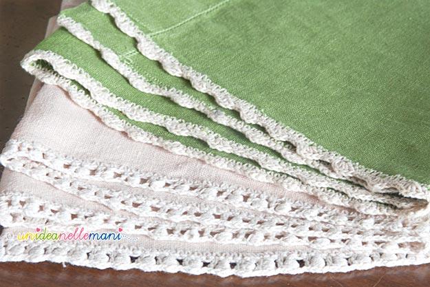 Bordure Di Pizzo All Uncinetto.Uncinetto E Crochet Raccolta Di Bordi Facili All Of Pizzi