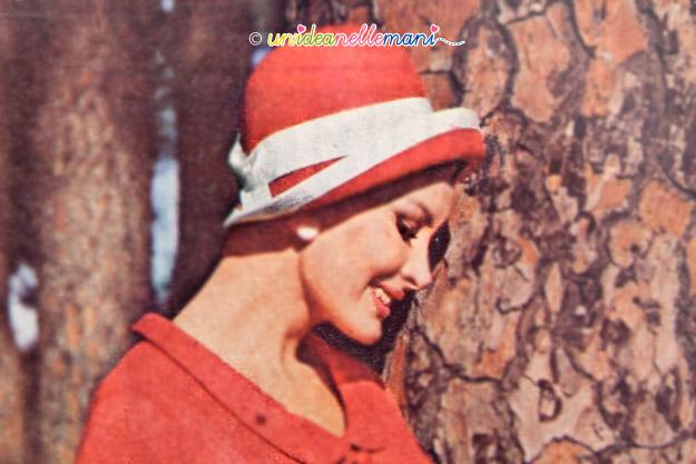 cappelli vintage, cappelli anni 60, cappelli originali anni 60,