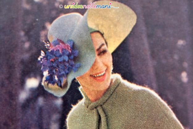 cappelli vintage, cappelli anni 60, cappelli originali anni 60, cappello a tesa larga,