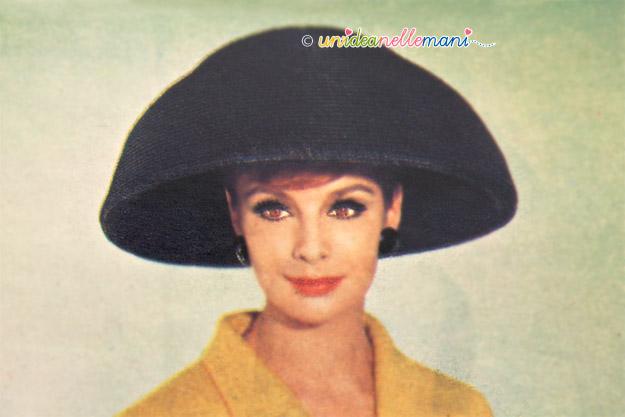 cappelli vintage, cappelli anni 60, cappelli originali anni 60, accessori vintage,