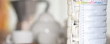 Riciclo Creativo Bottiglie di Plastica: il Porta Tazzine