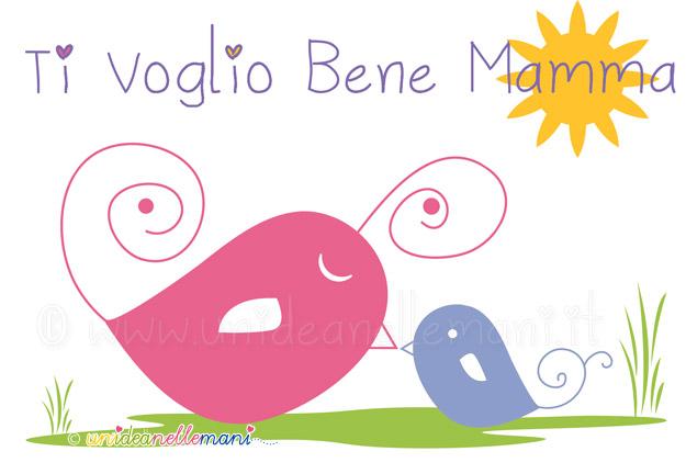 Favorito Festa della Mamma: Biglietti Auguri per Bambini GO73