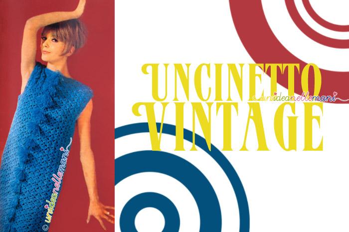 abito all'uncinetto, vestito all'uncinetto, vestito uncinetto schema, abito anni 60, vestito vintage,