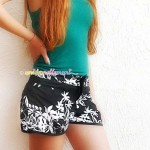 shorts fai da te, cucire shorts, stringere shorts, shorts alla moda,